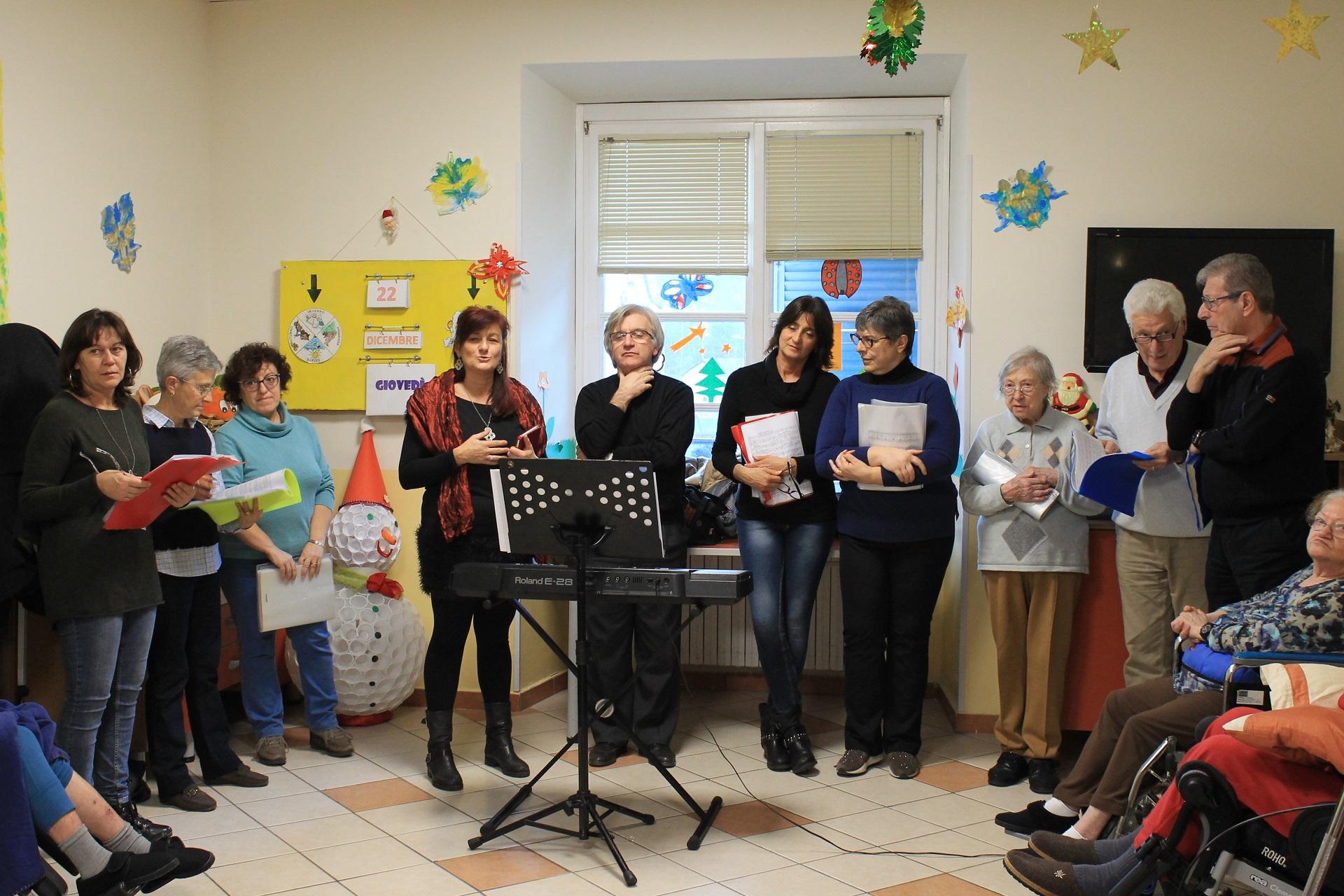 Residenza Protetta Santuario Savona - Festa Natale 2016