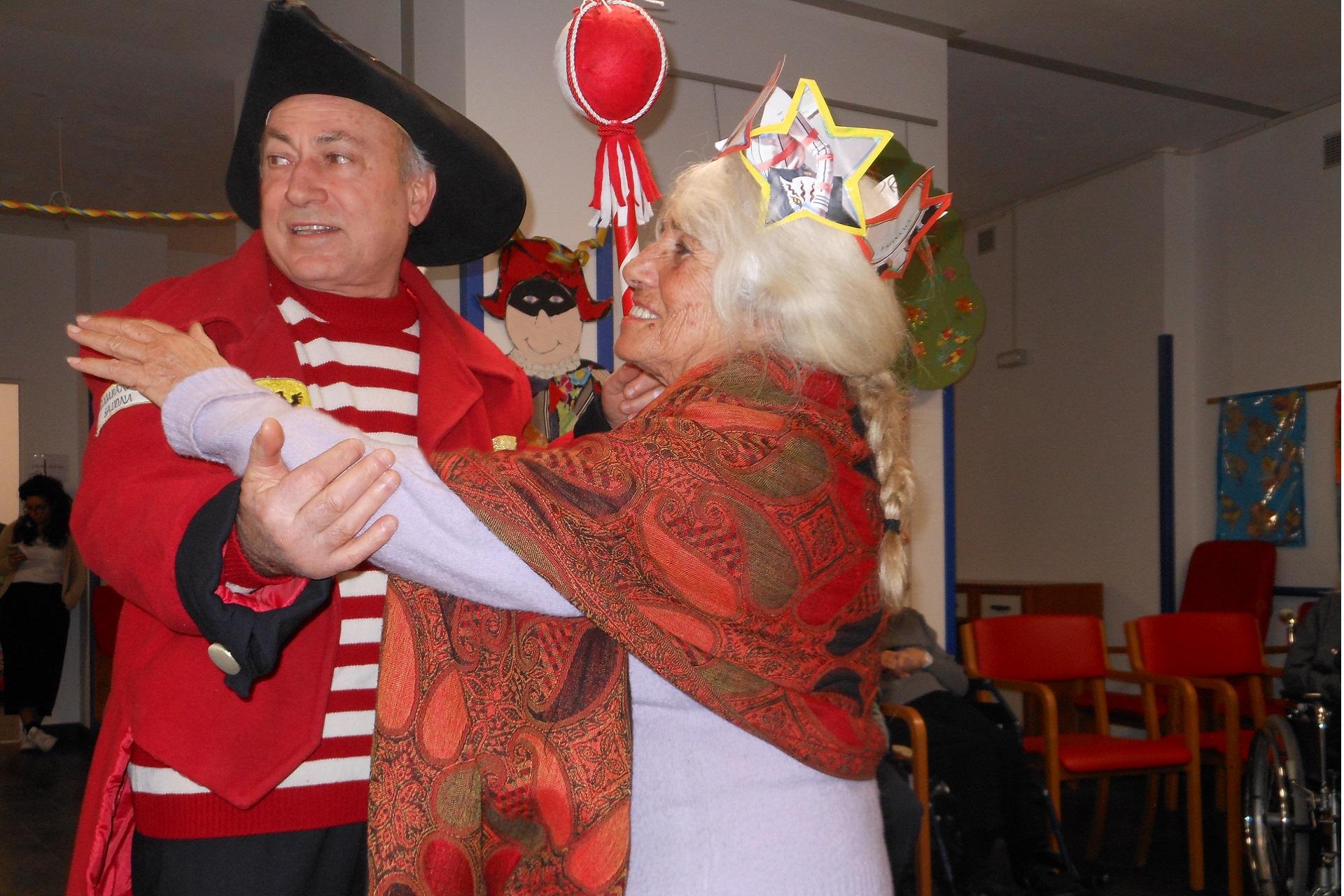 Festa di Carnevale Residenza Protetta Casa Marino Bagnasco | Opere Sociali Servizi Savona