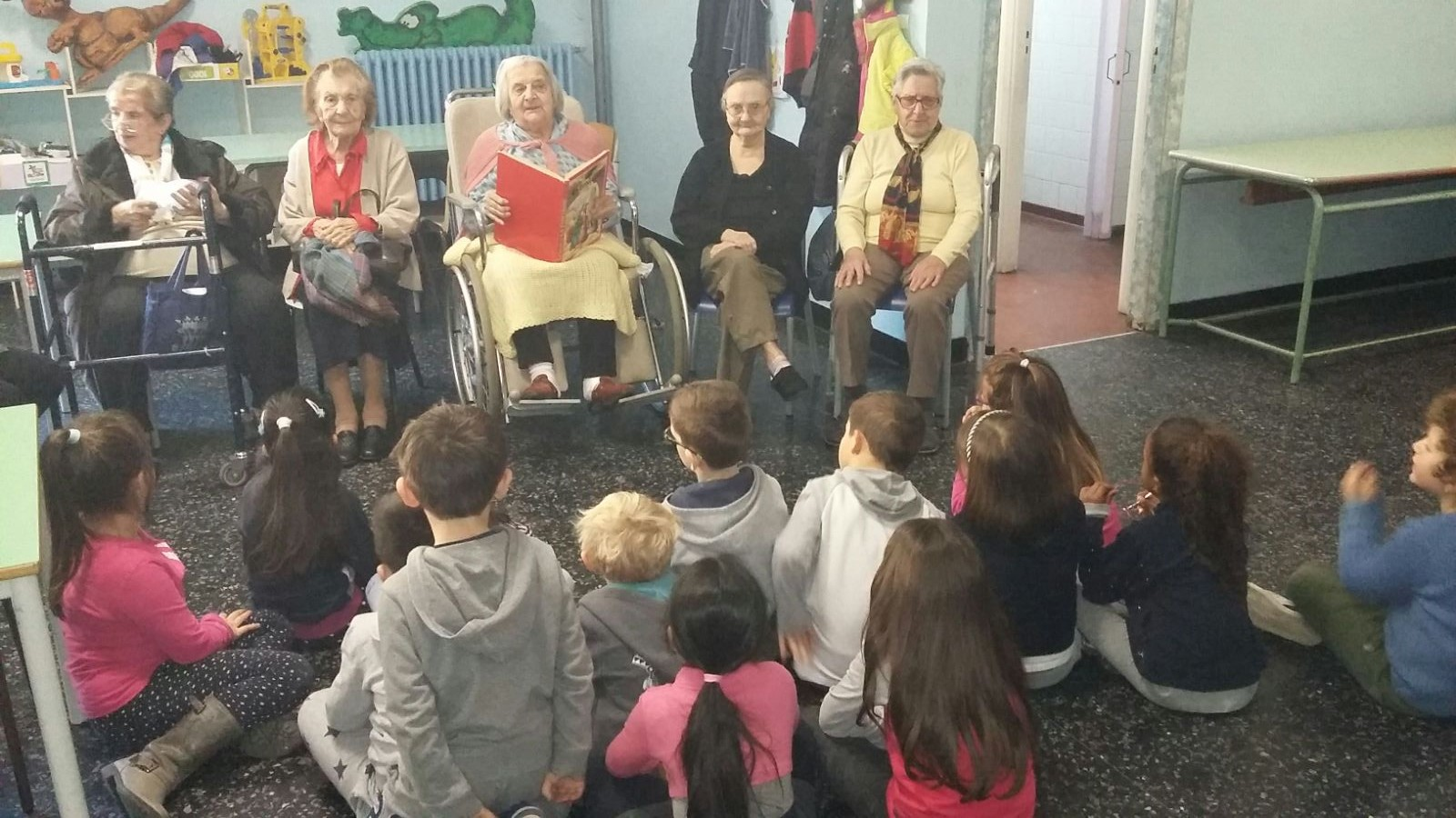 Progetto Nonne Lettrici Residenza Protetta Santuario | Opere Sociali Servizi Savona