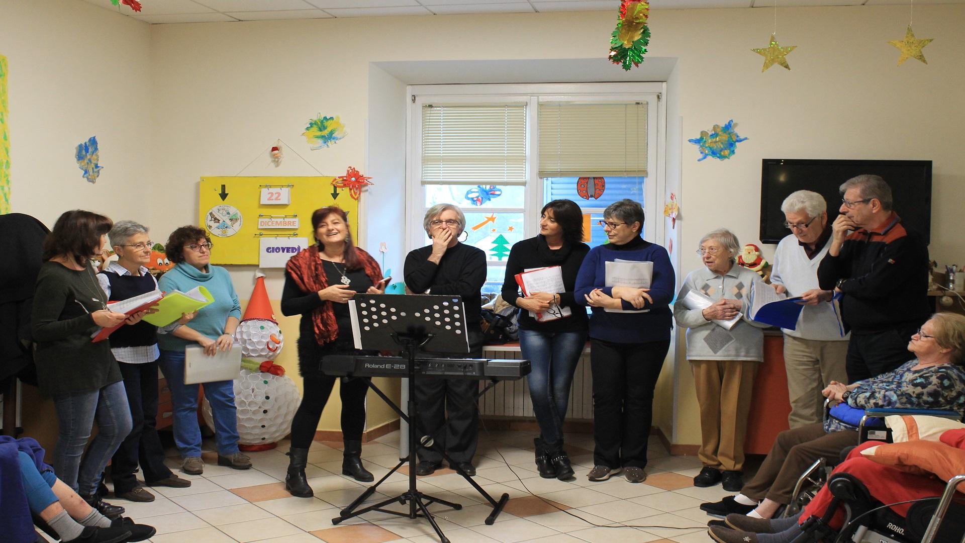 Festa di Natale Residenza Protetta del Santuario | Opere Sociali Servizi Savona