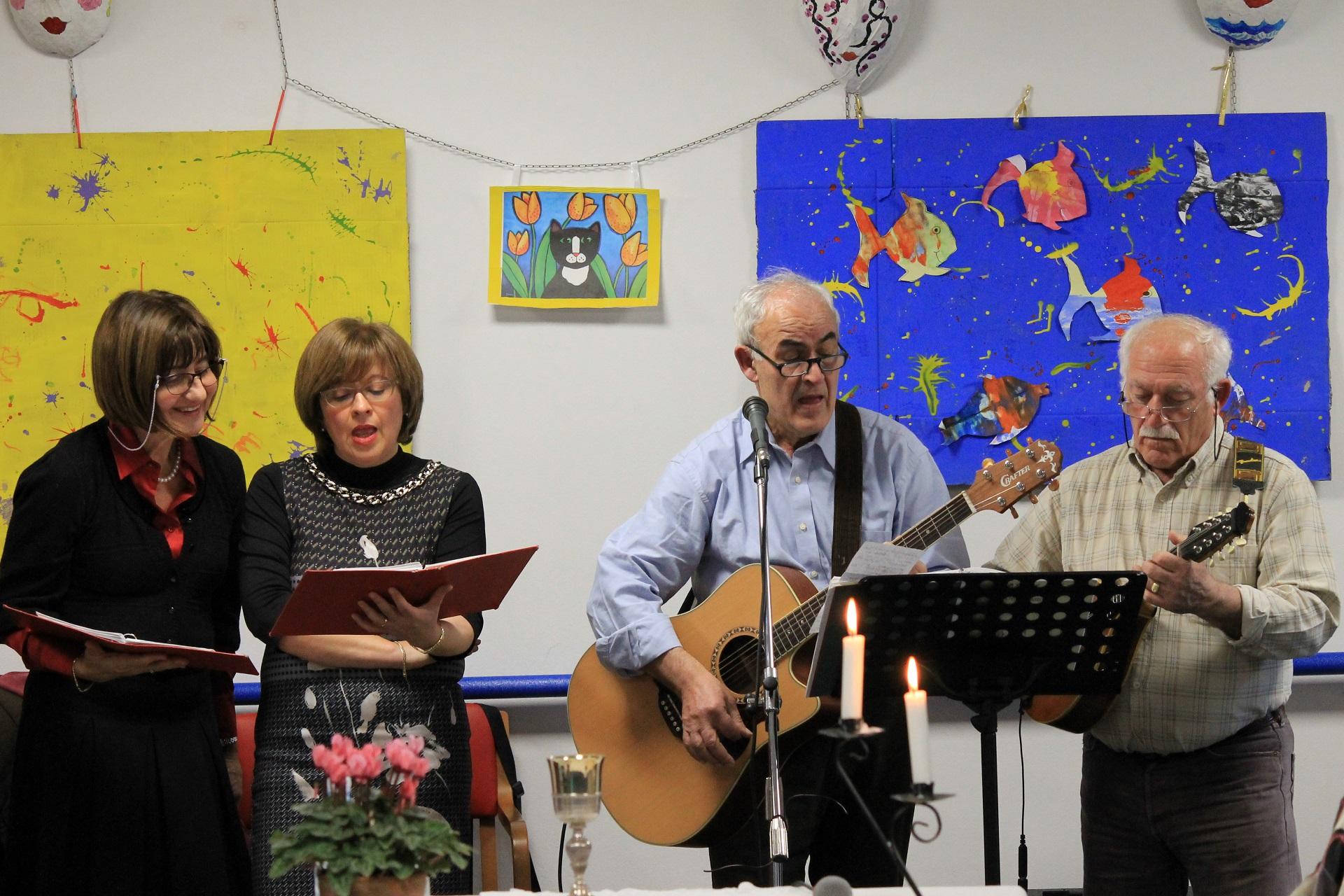 Festa di Natale Residenza Protetta Casa Marino Bagnasco - Opere Sociali Servizi Savona
