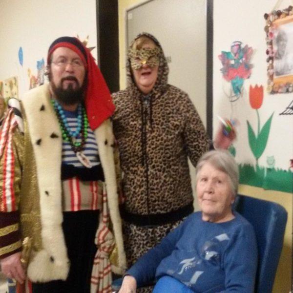 Festa di Carnevale Residenza Sanitaria Assistenziale Santuario | Opere Sociali Servizi Savona