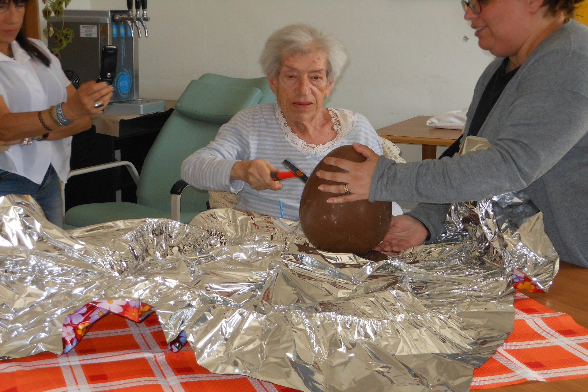 Messa di Pasqua e festa delle uova Residenza Sanitaria Assistenziale Noceti | Opere Sociali Servizi Savona