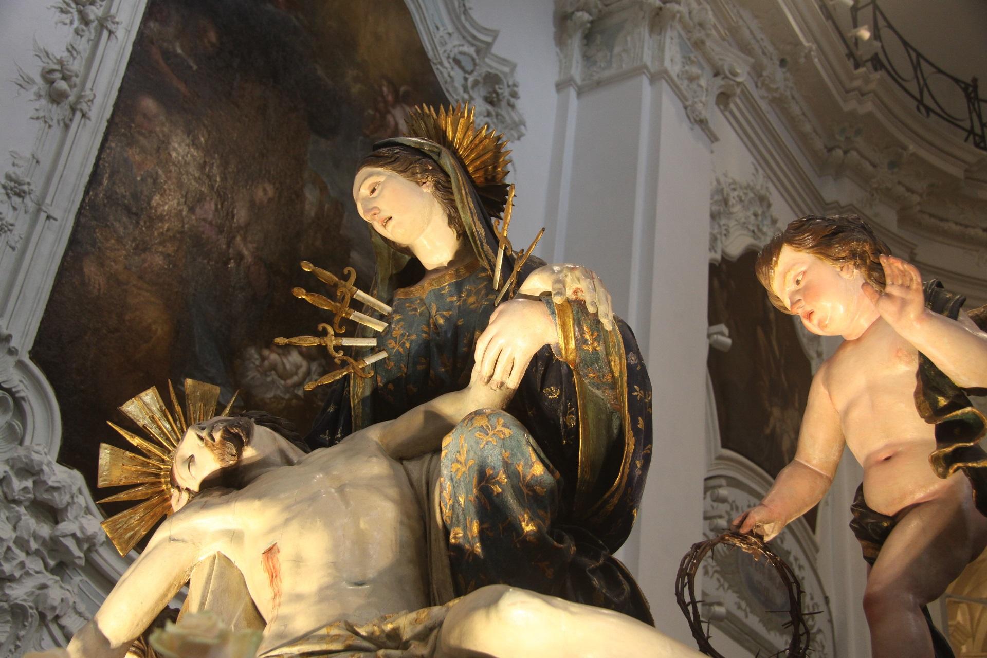 Proiezione Via Crucis Residenza Sanitaria Assistenziale Noceti | Opere Sociali Servizi Savona