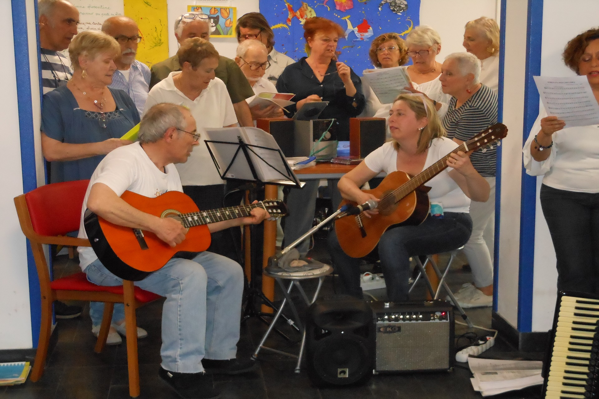 Festa di compleanno Residenza Protetta Casa Marino Bagnasco | Opere Sociali Servizi Savona
