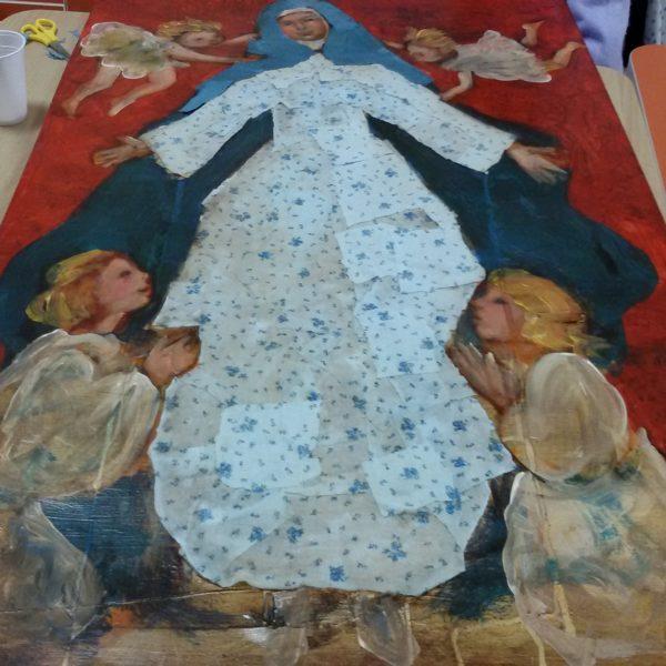 Giornate con l'artista Imelda Bassanello Residenza Sanitaria Assistenziale Santuario   Opere Sociali Servizi Savona