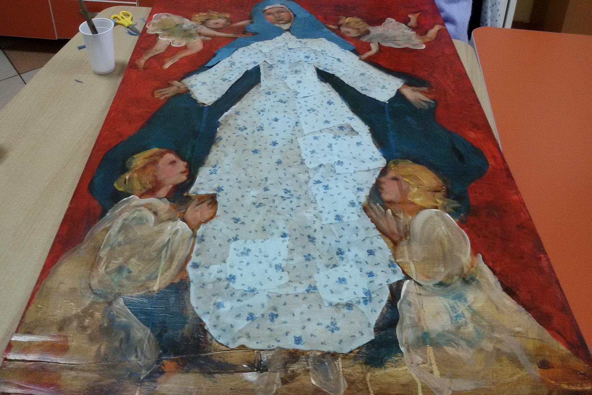 Giornate con l'artista Imelda Bassanello Residenza Sanitaria Assistenziale Santuario | Opere Sociali Servizi Savona