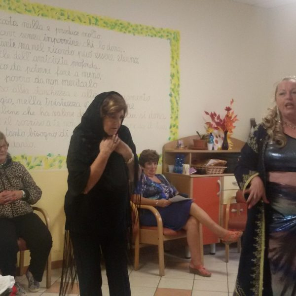 Musica, ballo e teatro Residenza Sanitaria Assistenziale Santuario | Opere Sociali Servizi Savona