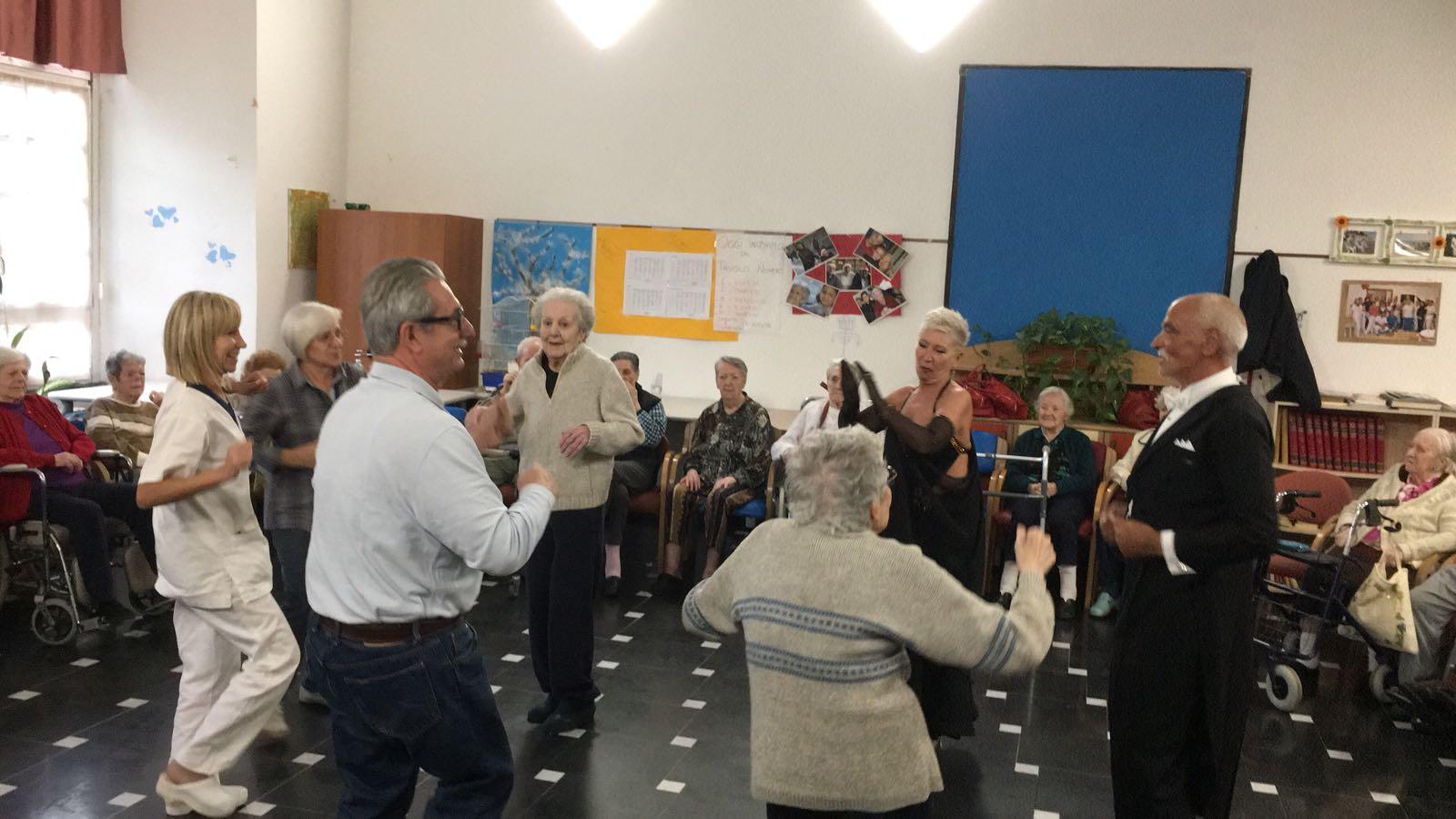 Signora ... permette questo ballo Residenza Protetta Santuario | Opere Sociali Servizi Savona