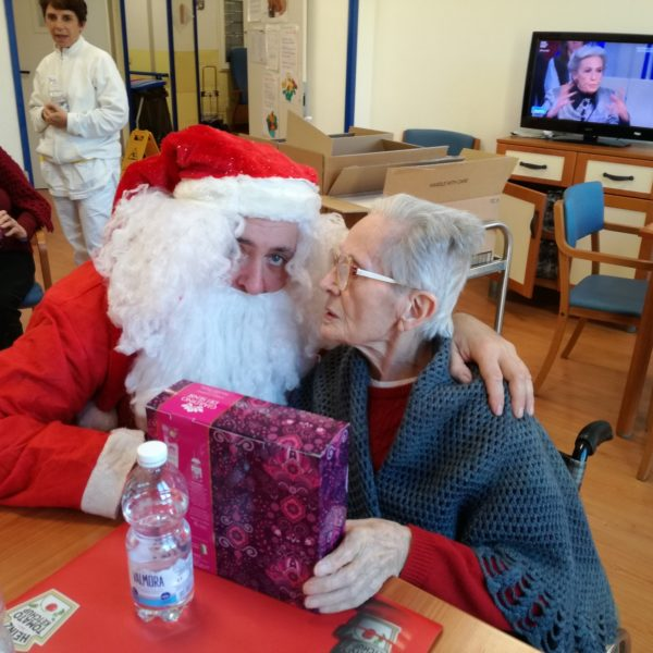 Babbo Natale Residenza Protetta Marino Bagnasco | Opere Sociali Servizi Savona