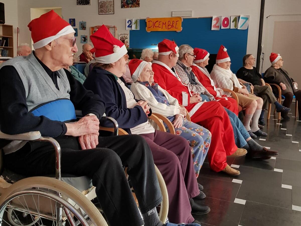 Festa di Natale Residenza Protetta Santuario Opere Sociali Servizi Savona