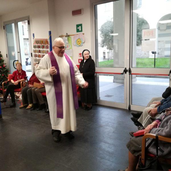 Santa Messa e festa degli Auguri Residenza Protetta Marino Bagnasco | Opere Sociali Servizi Savona