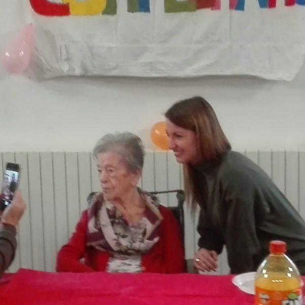 Maria Perrando 104 anni Residenza Protetta Santuario | Opere Sociali Servizi Savona
