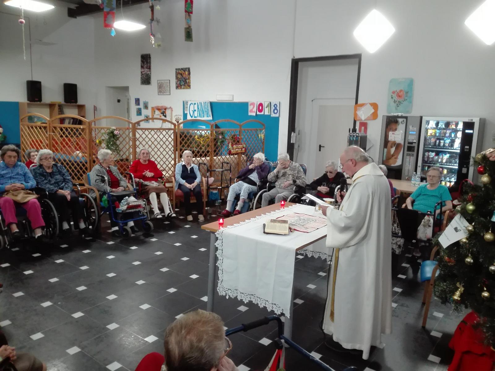 Messa come memoria Residenza Protetta Santuario | Opere Sociali Servizi Savona