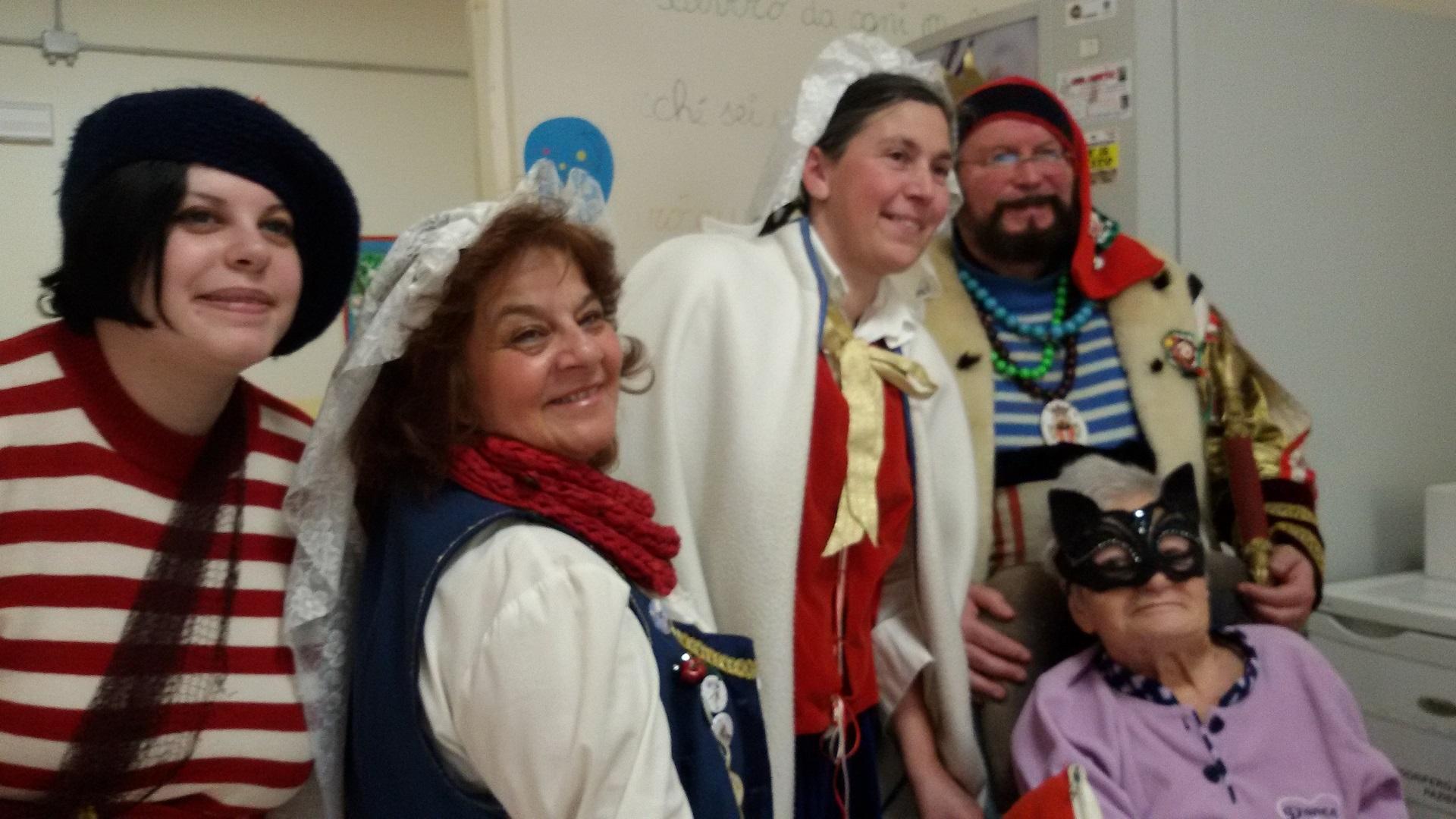 Carnevale e Maschere Residenza Sanitaria Assistenziale Santuario | Opere Sociali Servizi Savona