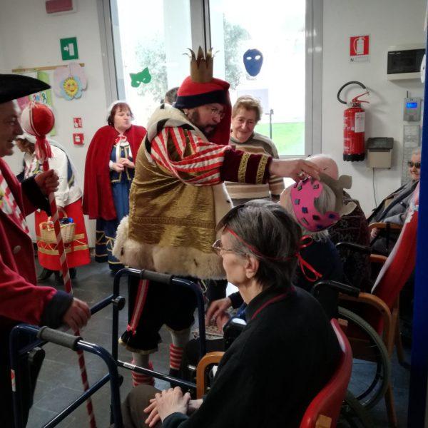 Cicciulin a Carnevale Residenza Protetta Bagnasco | Opere Sociali Servizi Savona