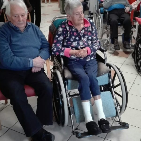 60 anni di matrimonio alla Residenza Sanitaria Assistenziale Santuario - Opere Sociali Servizi Savona
