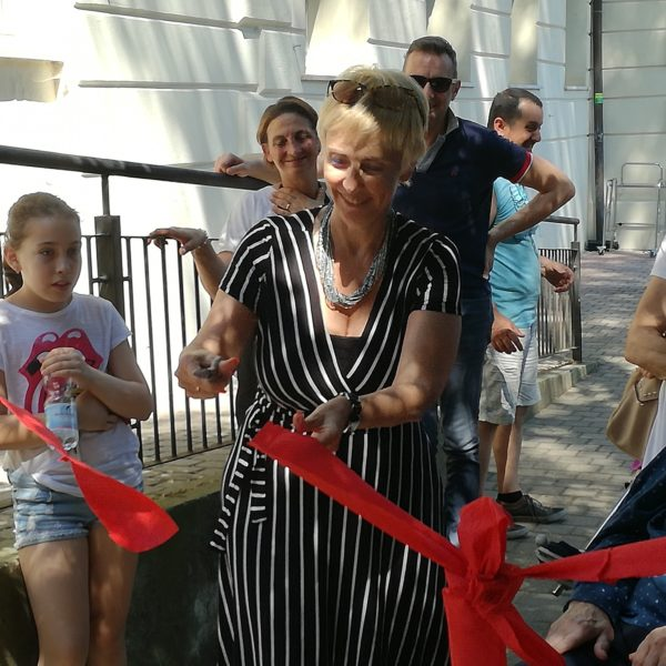 Inaugurazione giardino Residenza Sanitaria Assistenziale Noceti | Opere Sociali Servizi Savona