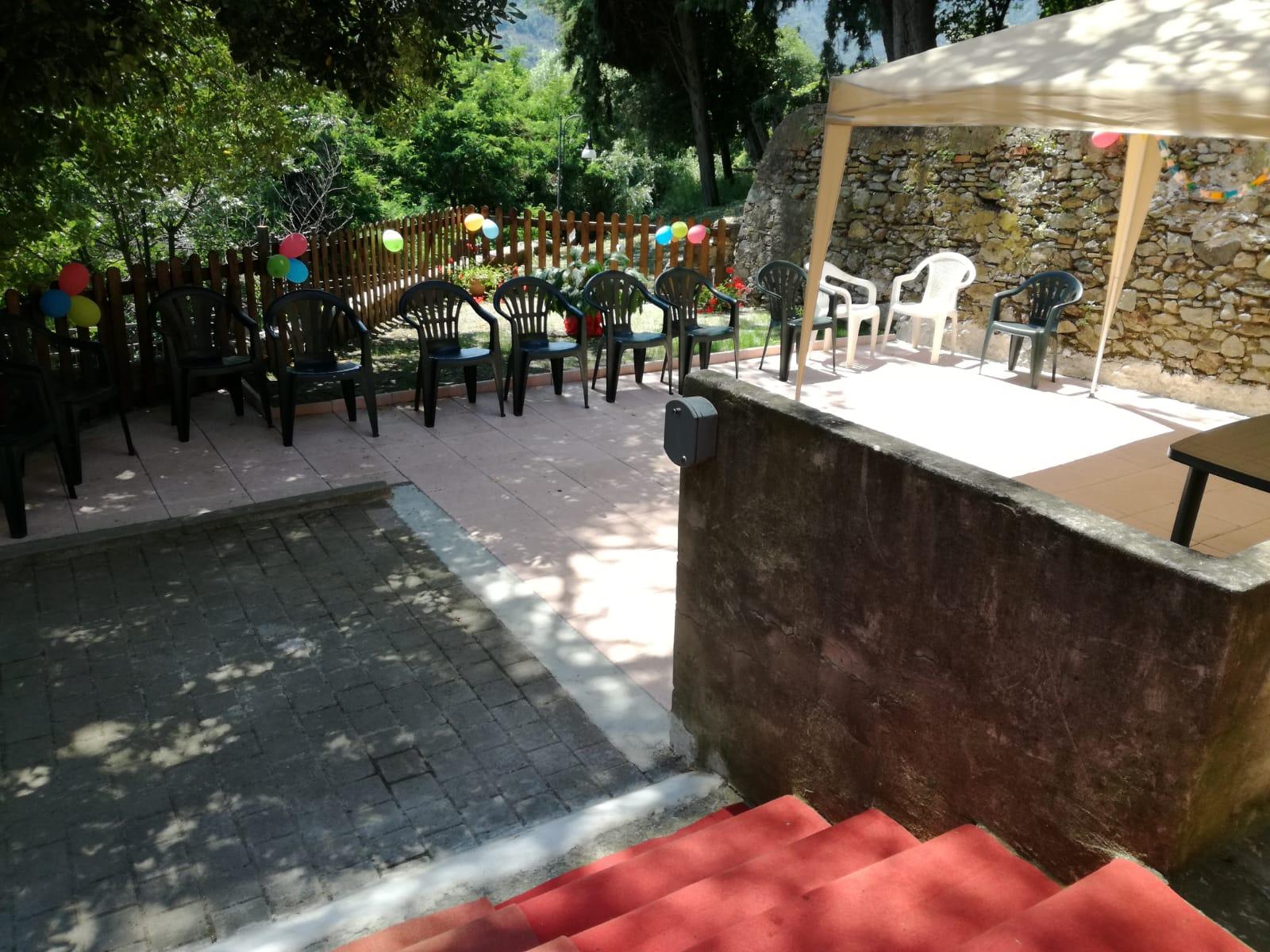 Pranzo Fine Estate Residenza Sanitaria Assistenziale Noceti - Opere Sociali Servizi Savona