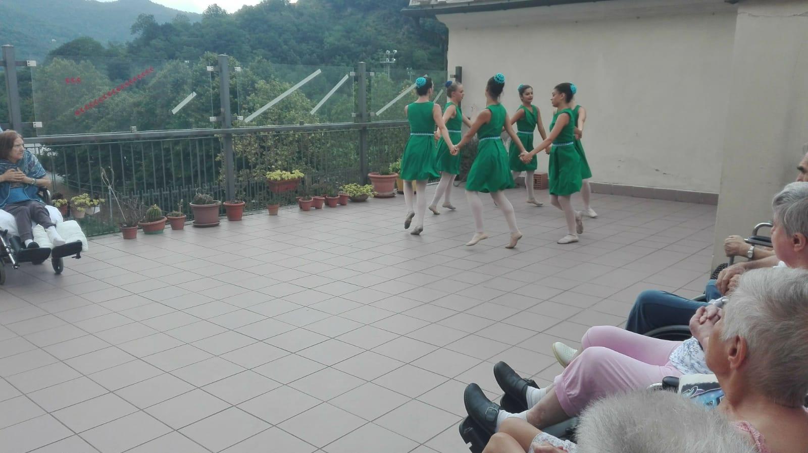 Danza Residenza Sanitaria Assistenziale Santuario - Opere Sociali Servizi Savona