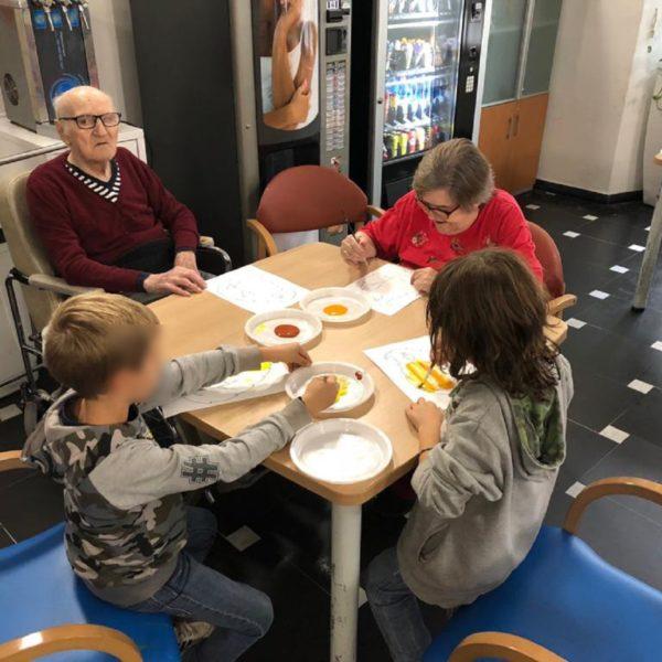 Progetto Insieme a nonno Felice - Scuola Primaria Santuario e RP Santuario - Opere Sociali Servizi Savona
