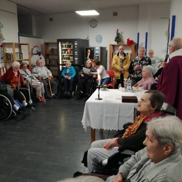 Messa Natale Residenza Protetta Bagnasco - Opere Sociali Servizi Savona