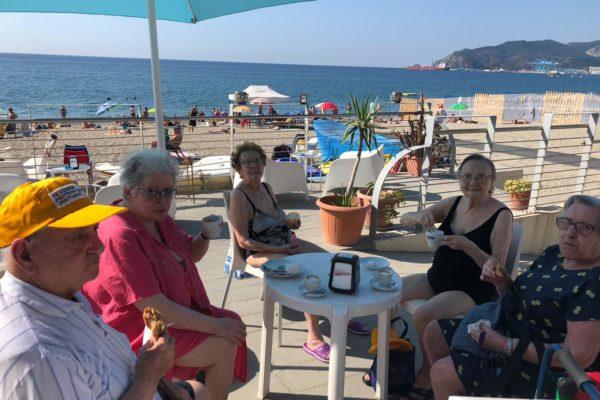 Apertura Stagione Balneare Residenza Protetta Santuario - Opere Sociali Servizi Savona