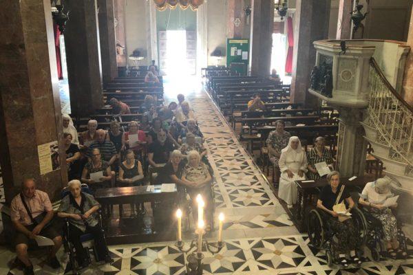 Giornata del malato Residenza Protetta Santuario - Opere Sociali Servizi Savona