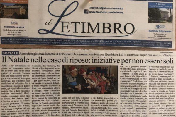 Il Letimbro - Opere Sociali Servizi Savona
