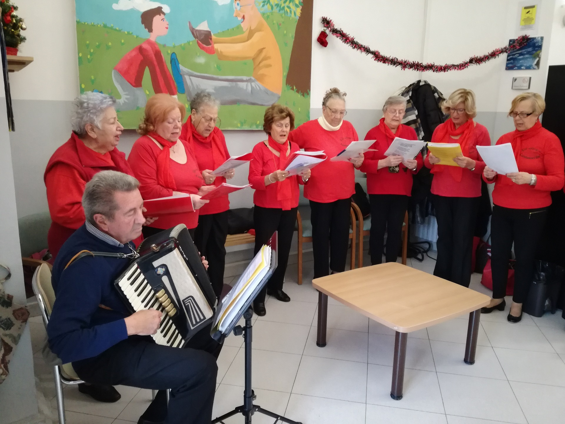 Festa Natale 2019 Residenza Sanitaria Assistenziale Noceti - Opere Sociali Servizi Savona
