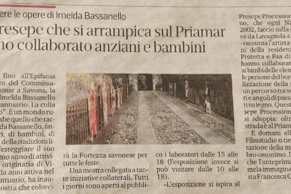 Presepe Priamar - Opere Sociali Servizi Savona