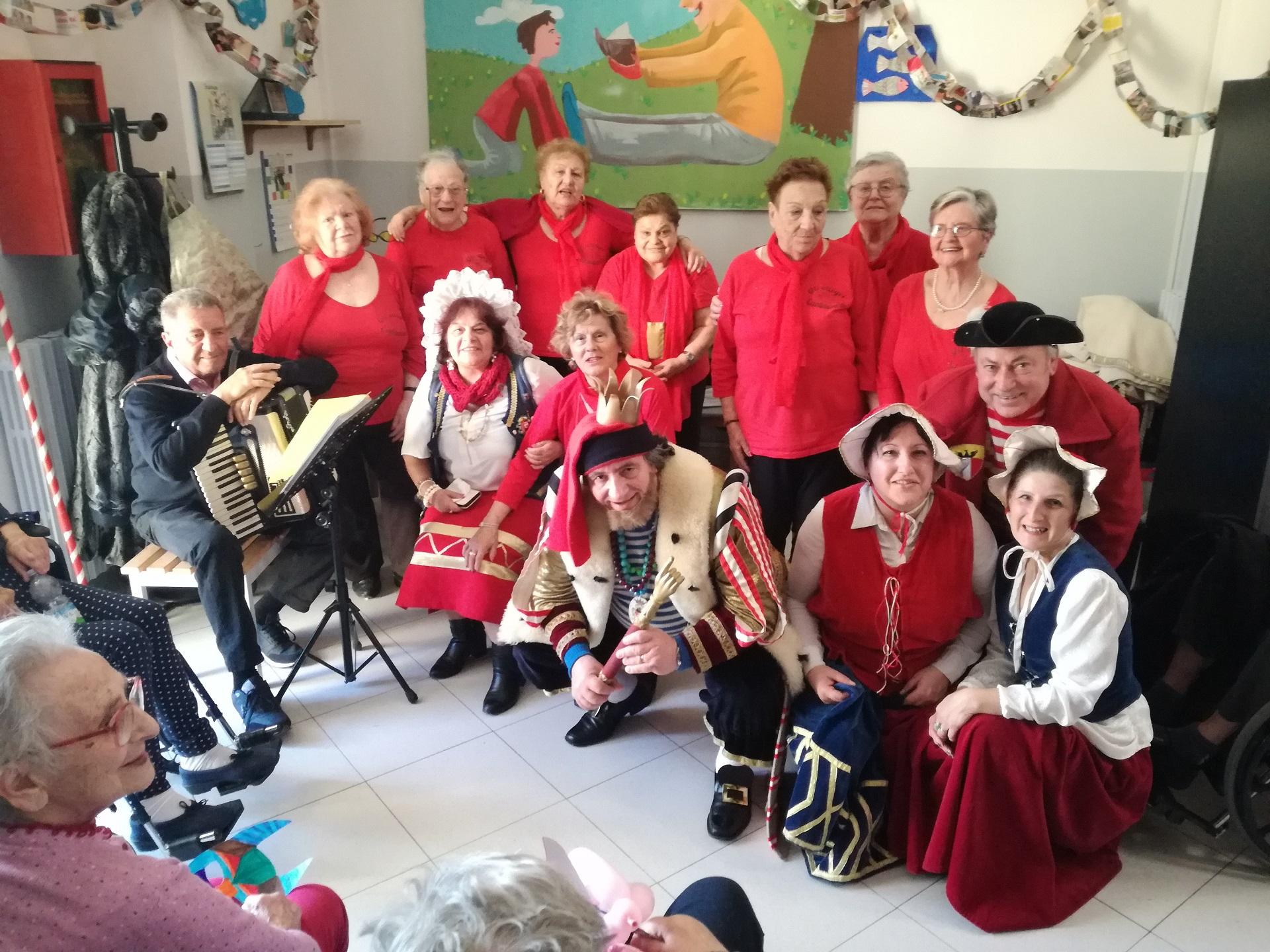 Festa Carnevale RSA Noceti - Opere Sociali Servizi Savona