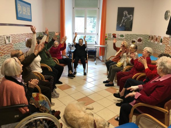 Teatro terapia Residenza Protetta Santuario - Opere Sociali Servizi Savona