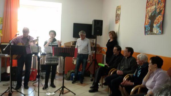 Visita Vescovo RSA del Santuario - Opere Sociali Servizi Savona