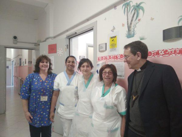 Visita pastorale Residenza Sanitaria Assistenziale Noceti - Opere Sociali Servizi Savona