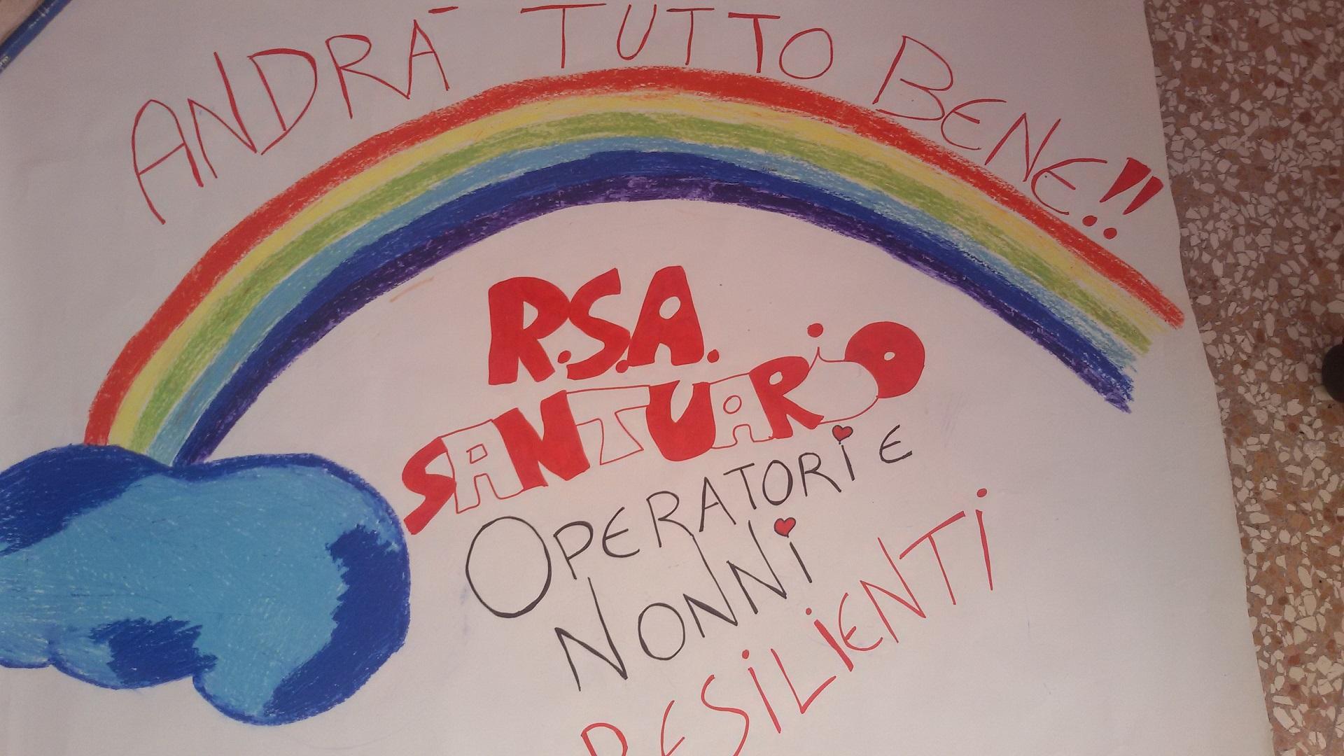 RSA Santuario andrà tutto bene - Opere Sociali Servizi Savona