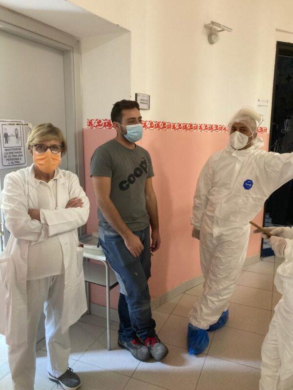Momenti di preparazione - RSA Noceti Santuario Centro Covid - Opere Sociali Servizi Savona